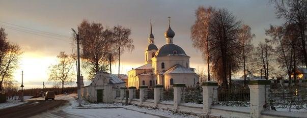 Храм во имя святых мучеников Александра и Антонины вСелище